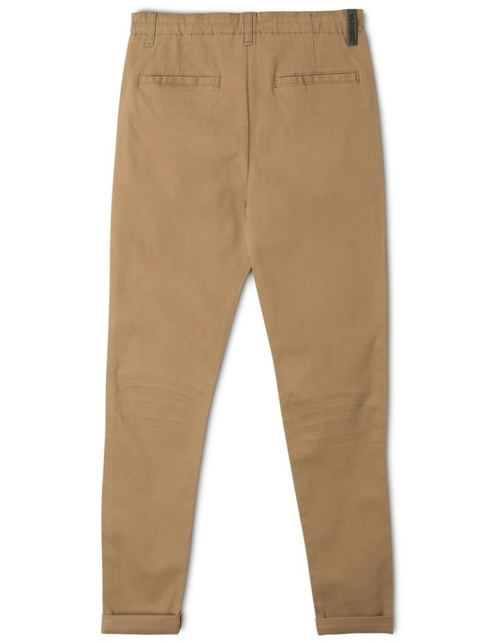 Washed Chino Pant in Oatmeal image 2