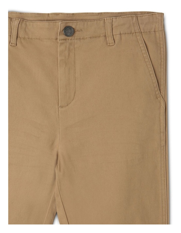 Washed Chino Pant in Oatmeal image 3