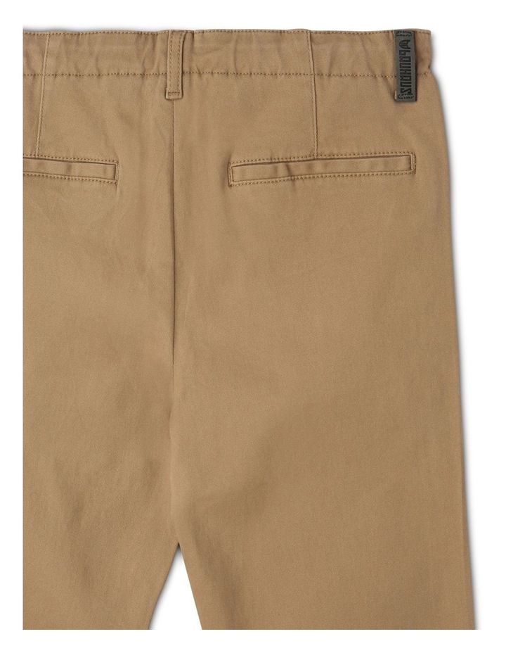 Washed Chino Pant in Oatmeal image 4