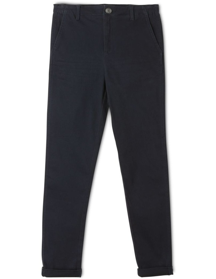 Washed Chino Pant in Navy image 1