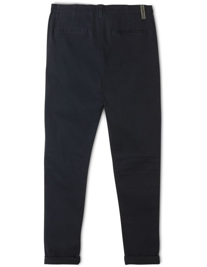 Washed Chino Pant in Navy image 2