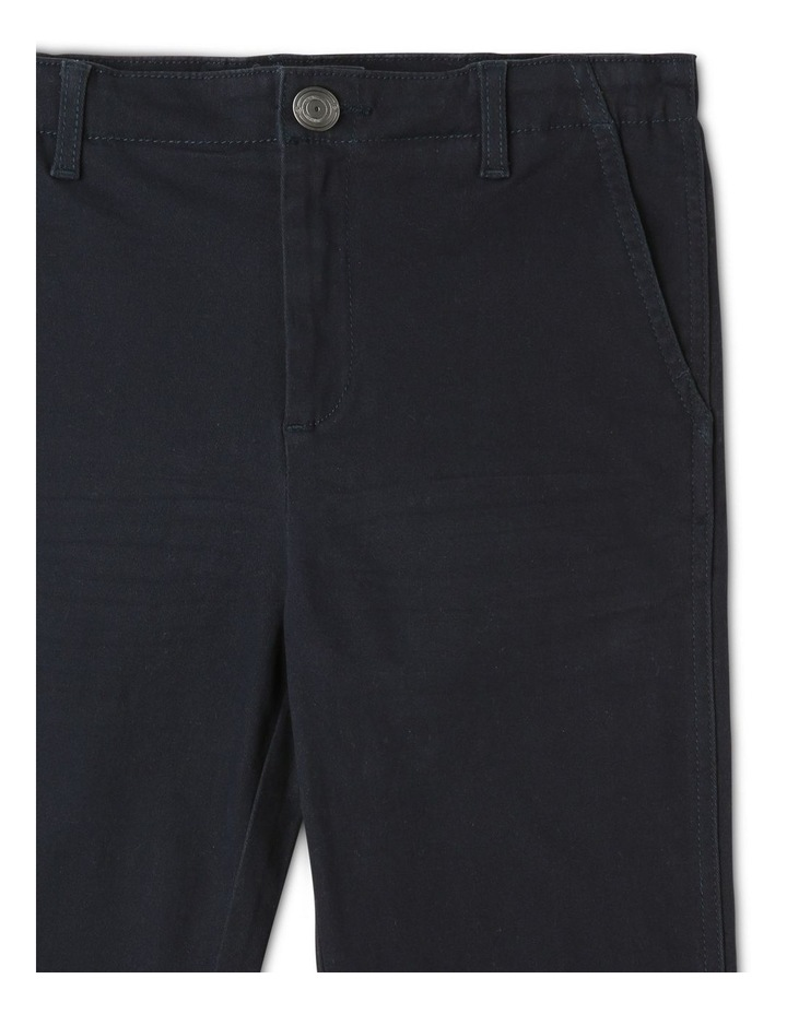 Washed Chino Pant in Navy image 3