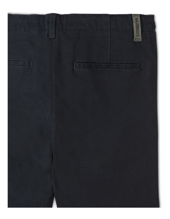 Washed Chino Pant in Navy image 4