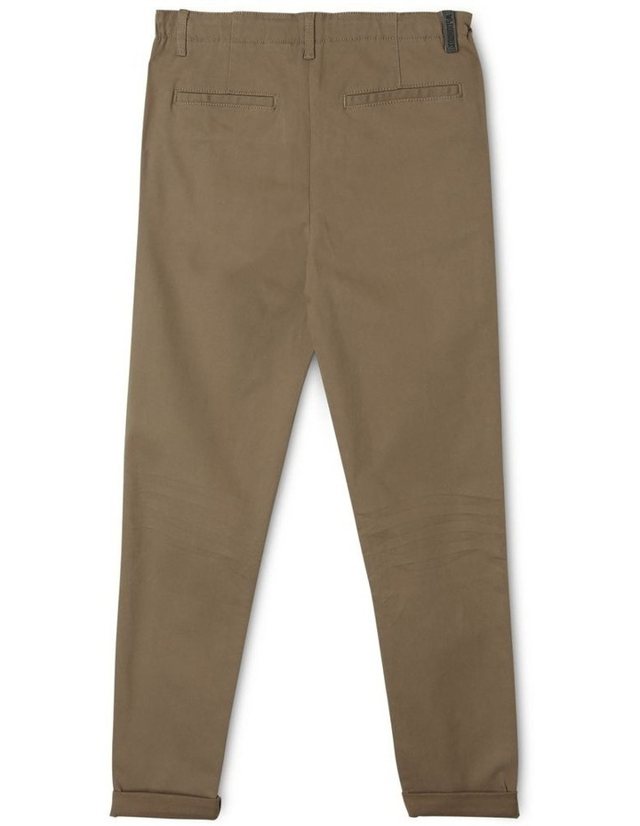 Washed Chino Pant in Khaki image 2