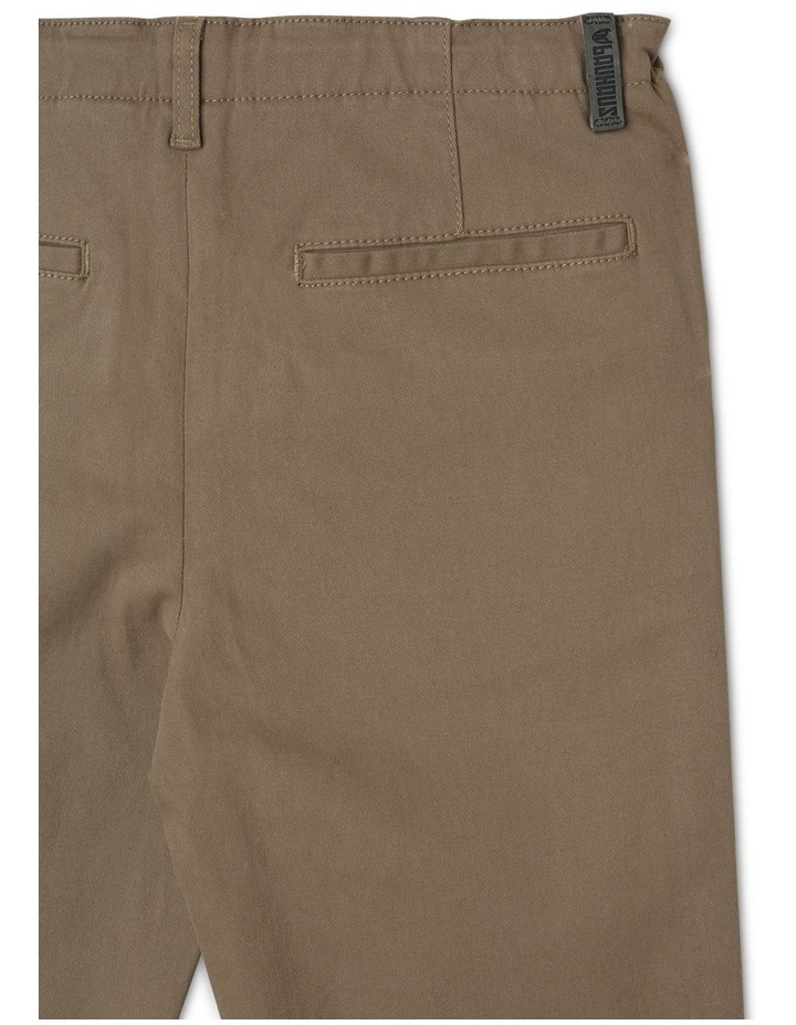 Washed Chino Pant in Khaki image 4