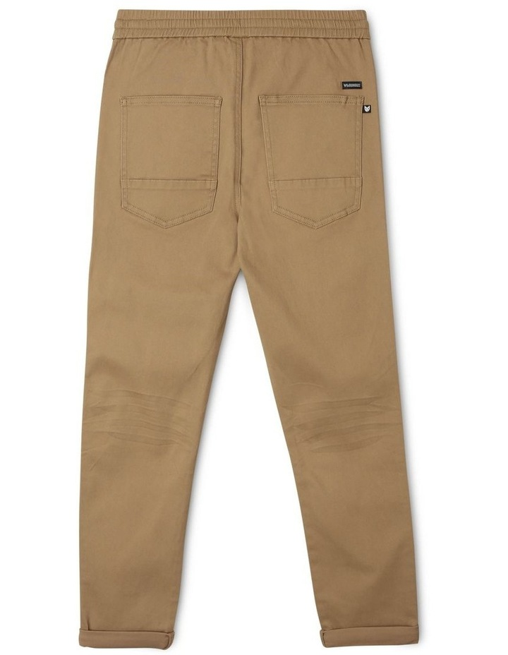 Pull-On Chino Pant in Oatmeal image 2