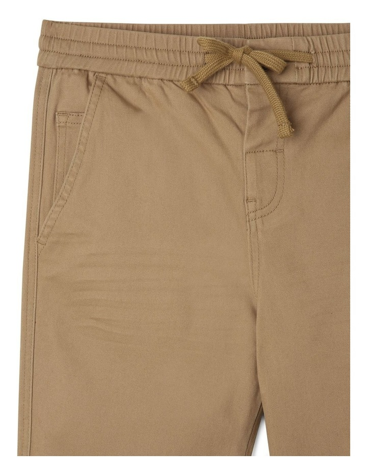 Pull-On Chino Pant in Oatmeal image 3