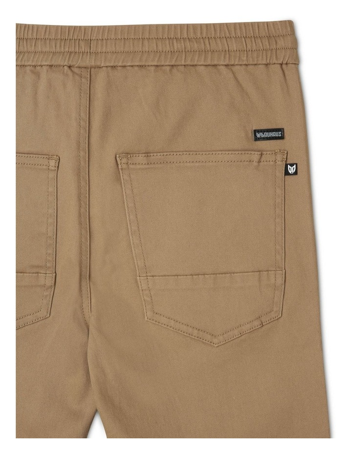 Pull-On Chino Pant in Oatmeal image 4
