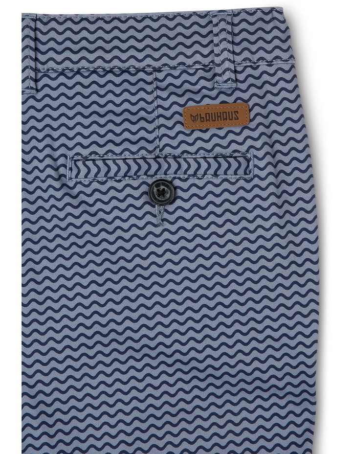 Stretch Aop Chino Short Side Entry Pockets image 3