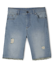 Bauhaus - Stretch Denim Bermuda Short