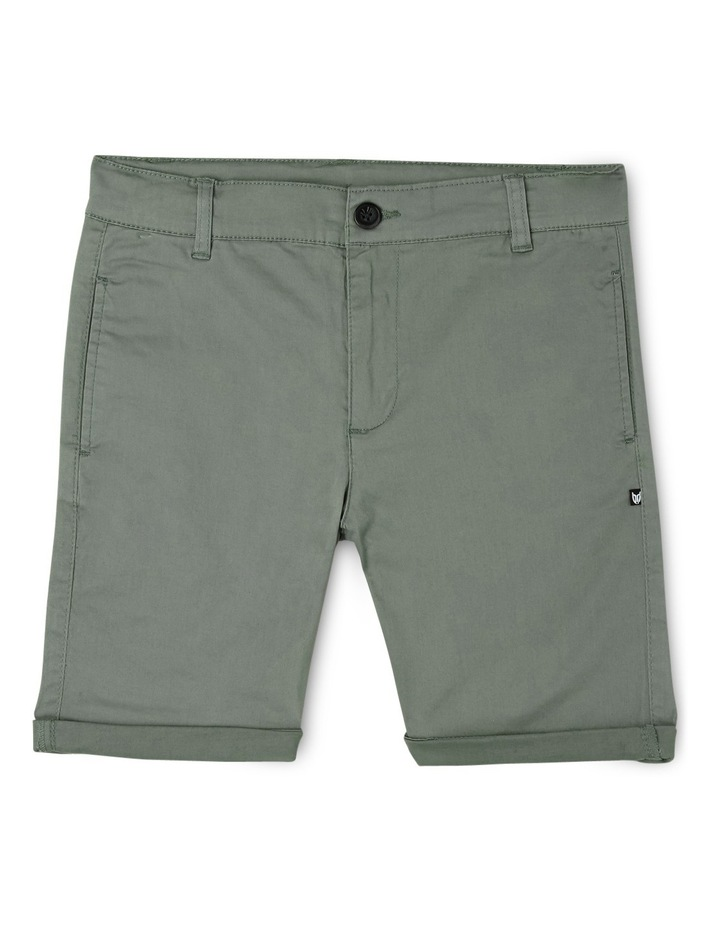 Stretch Chino Short Green image 1
