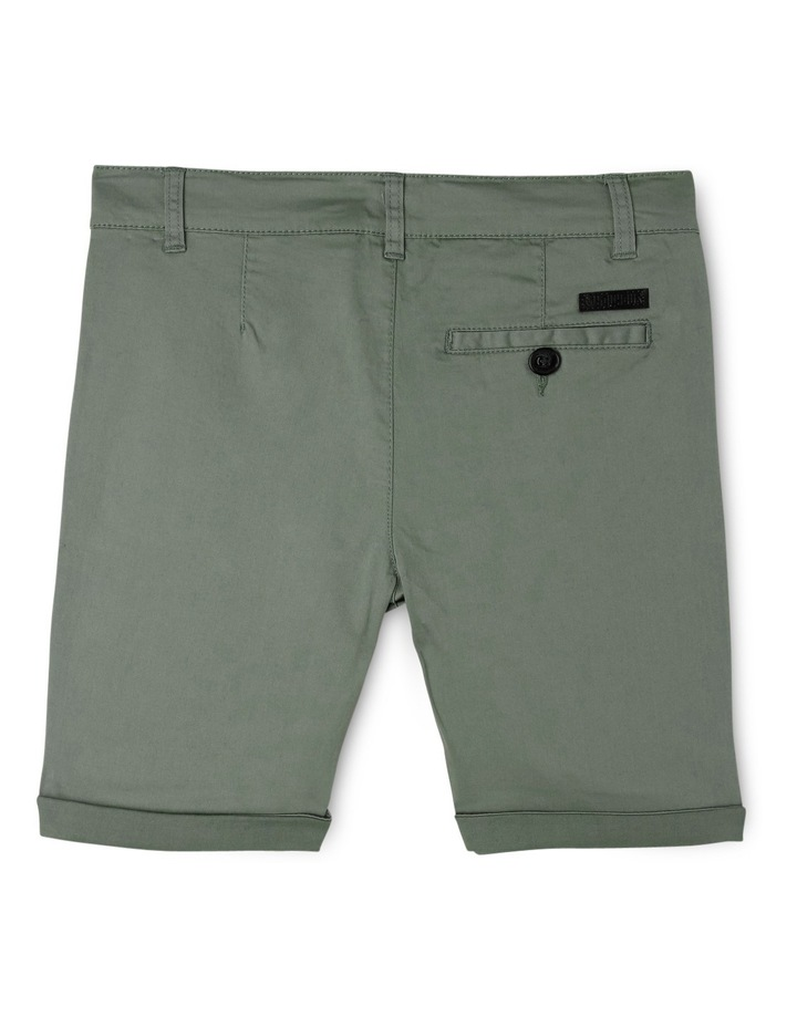 Stretch Chino Short Green image 2