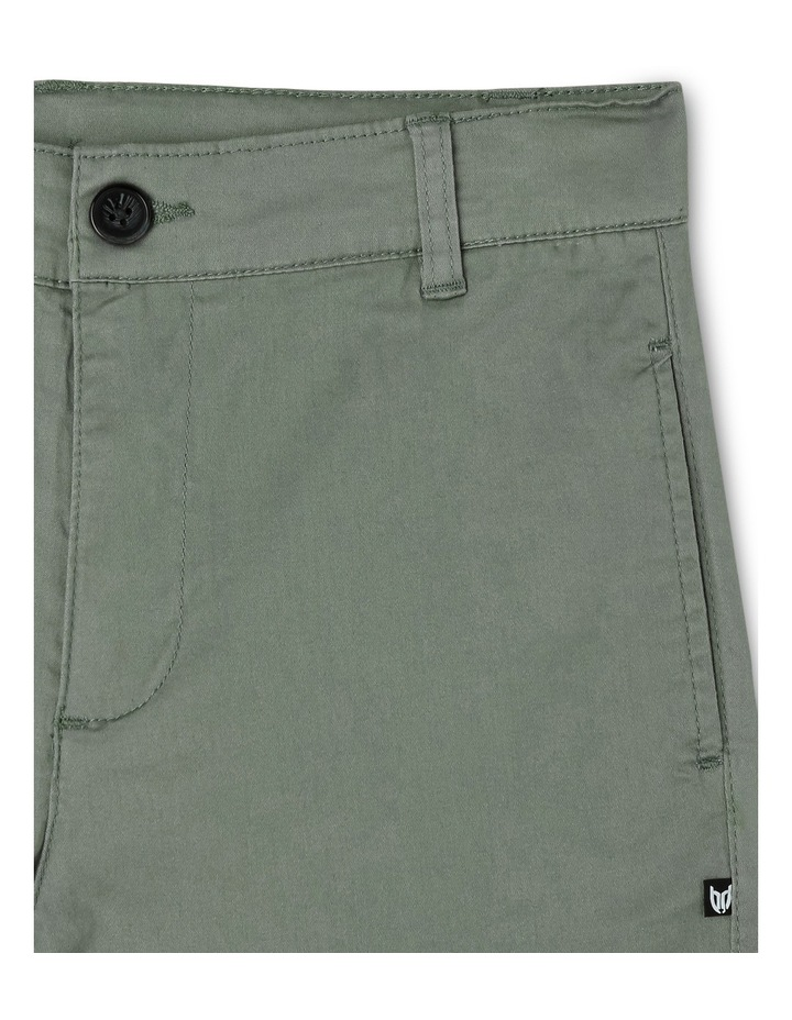 Stretch Chino Short Green image 3