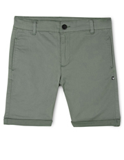 Stretch Chino Short Green
