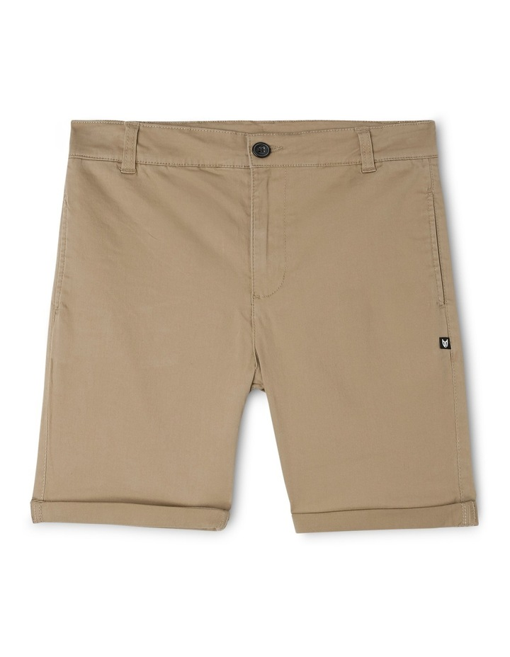 Stretch Chino Short Oat image 1