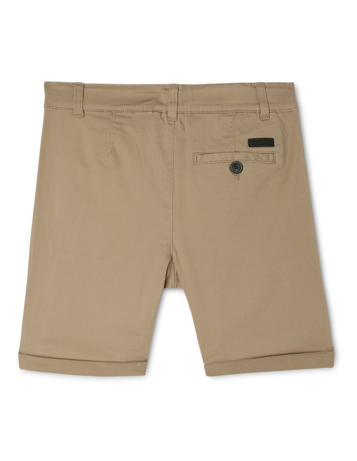 Stretch Chino Short Oat image 2