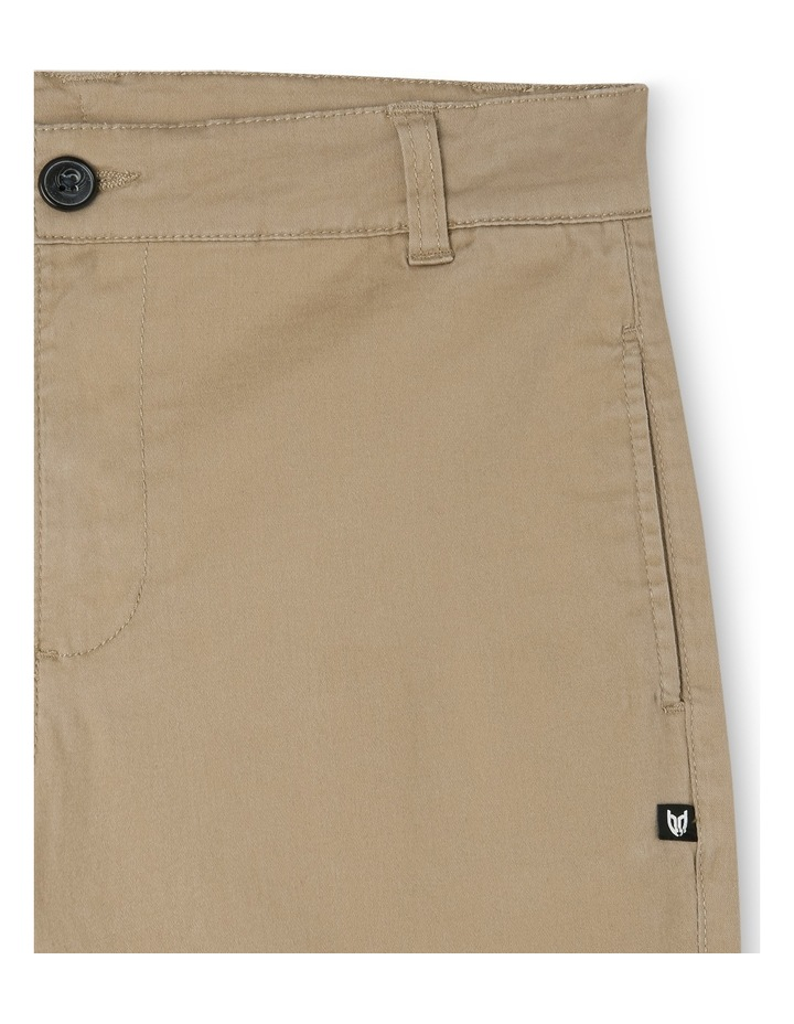 Stretch Chino Short Oat image 3
