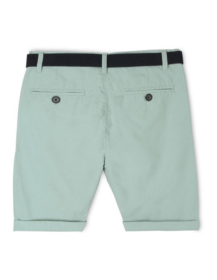 Chino Short with Belt image 2