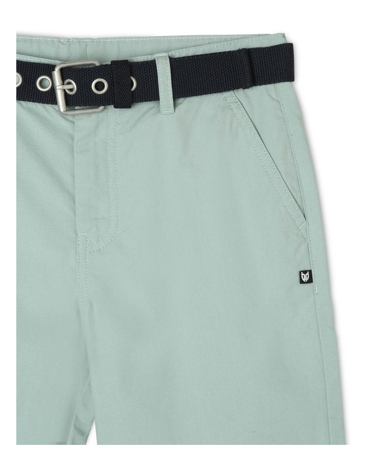 Chino Short with Belt image 3