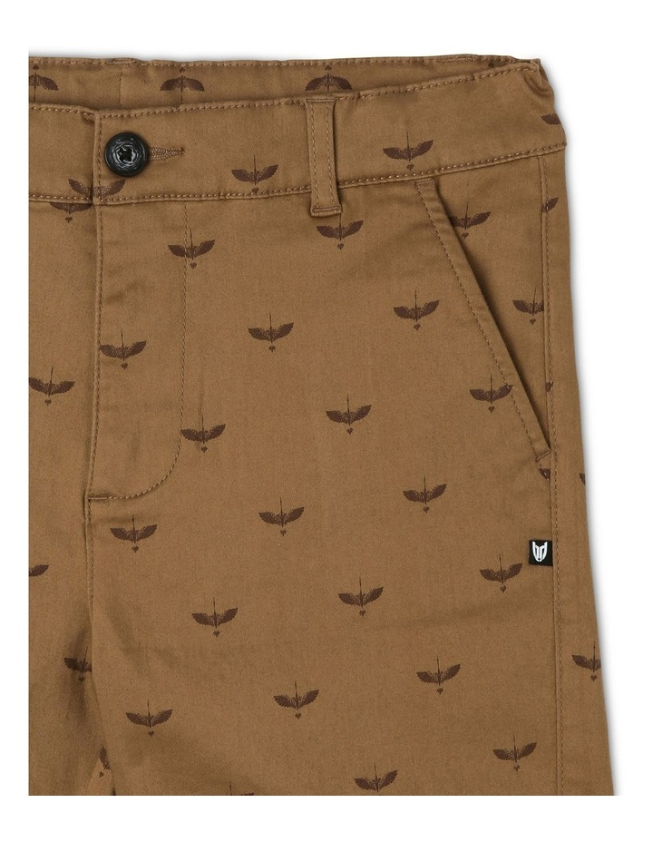 Knot Print Stretch Chino image 3