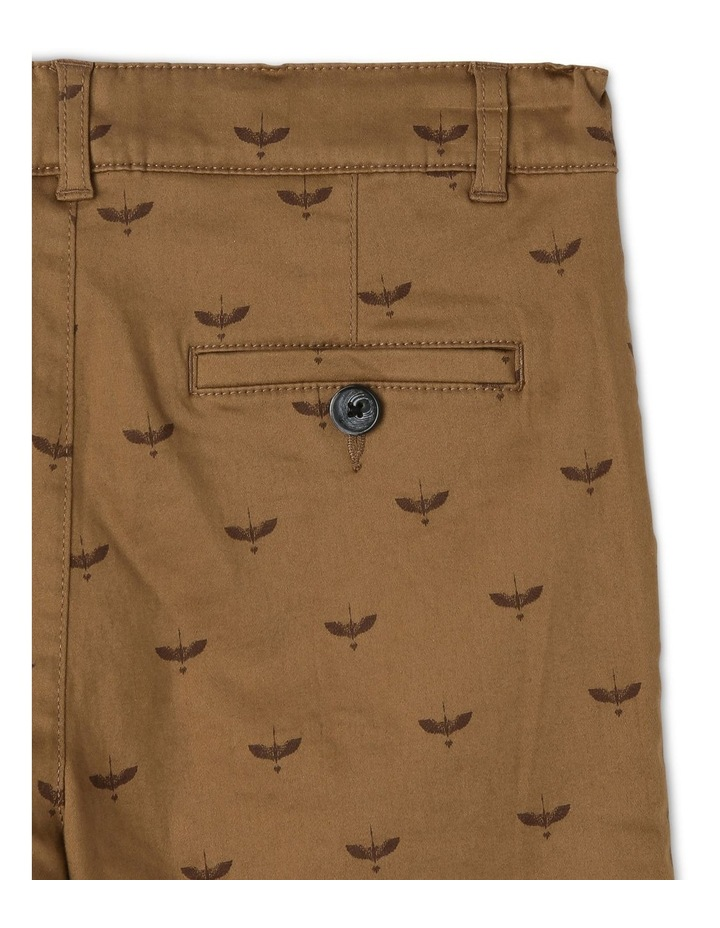 Knot Print Stretch Chino image 4