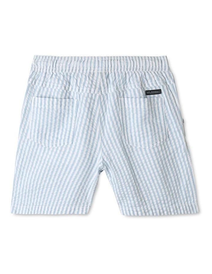 Pull On Seersucker Shorts image 2
