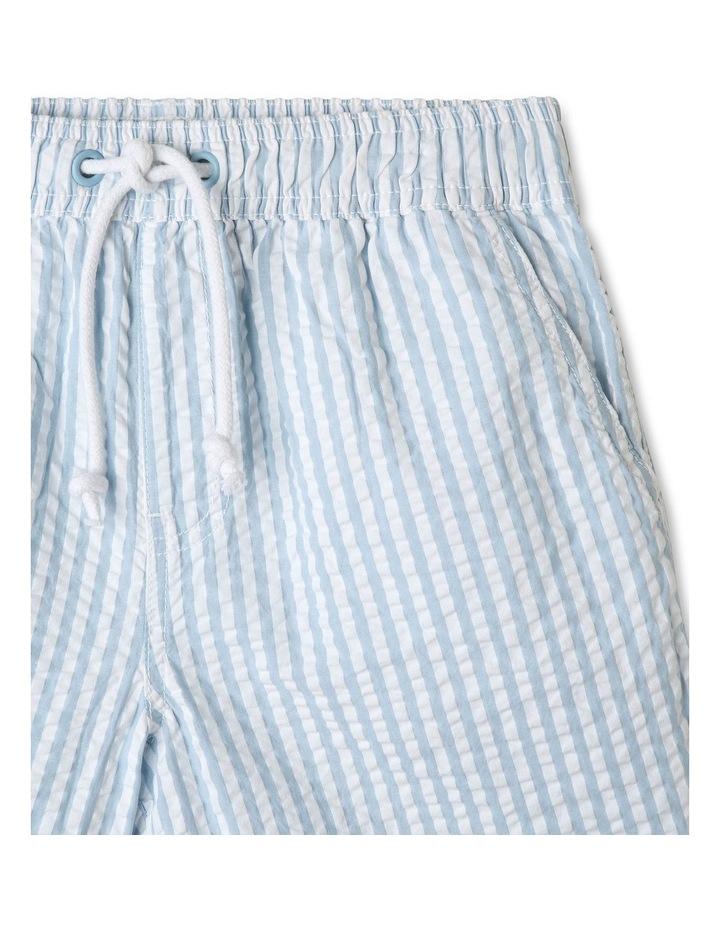 Pull On Seersucker Shorts image 3