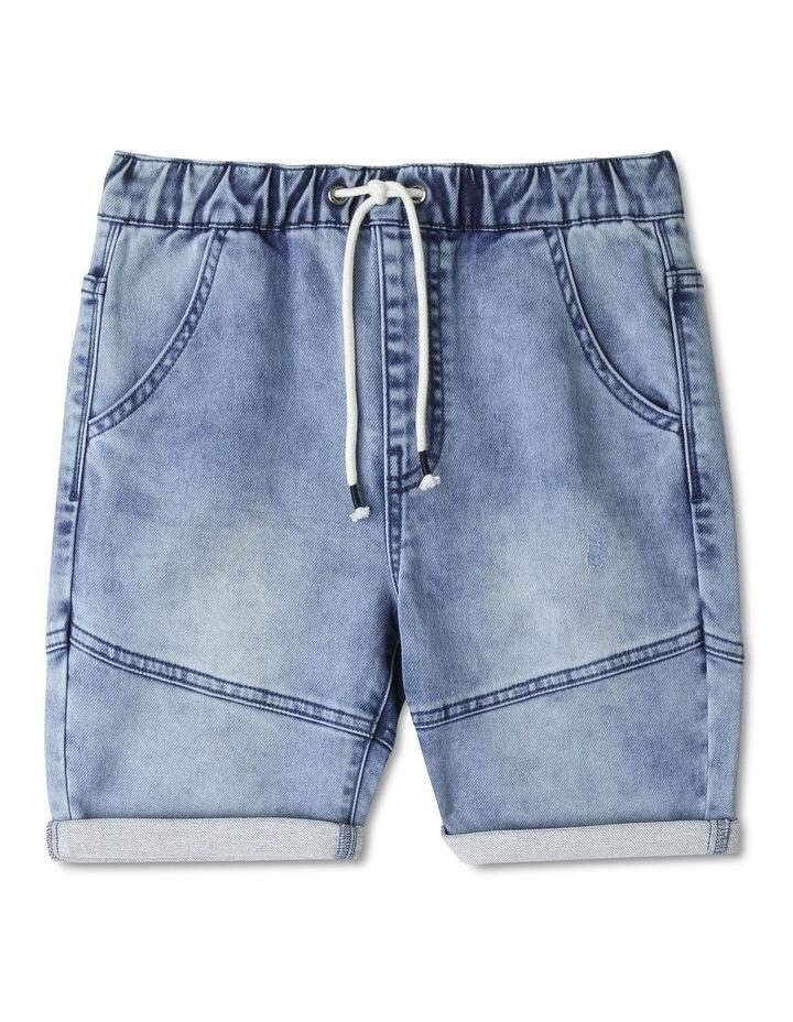 Pull On Denim Shorts image 1