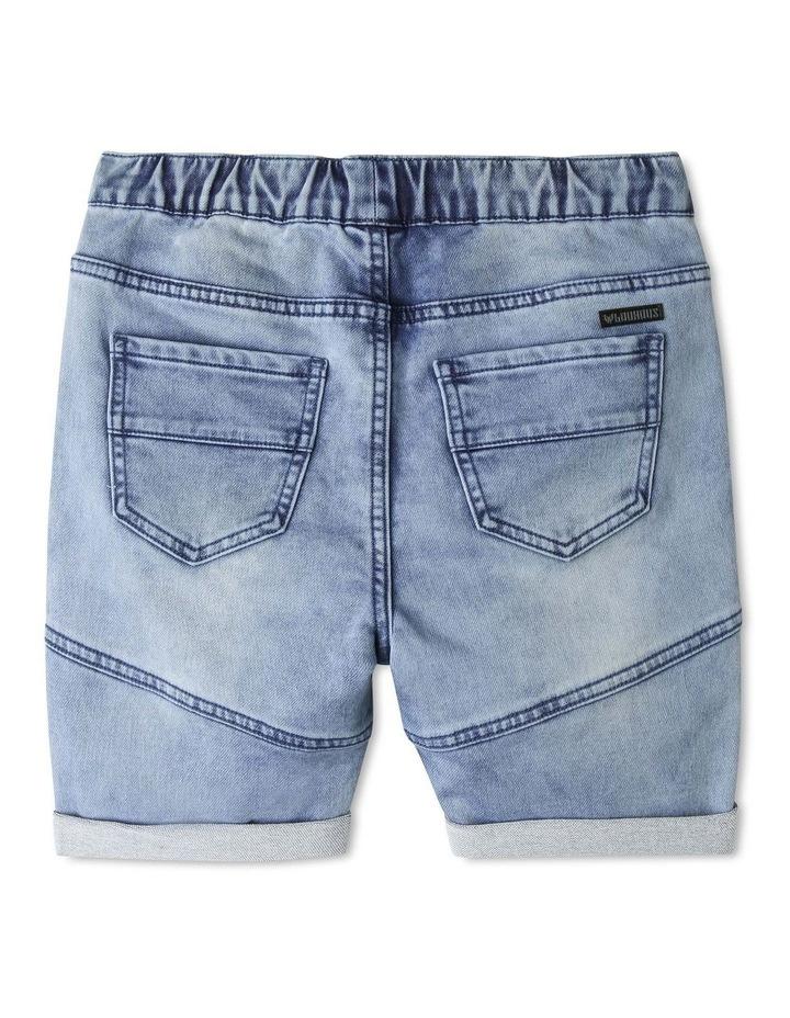 Pull On Denim Shorts image 2