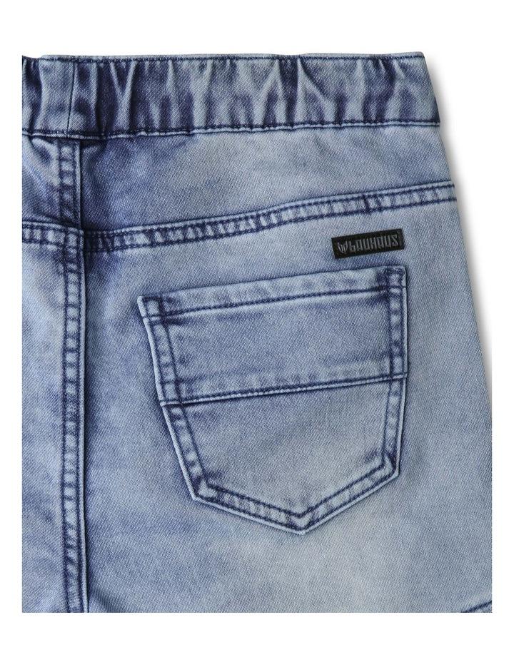 Pull On Denim Shorts image 4