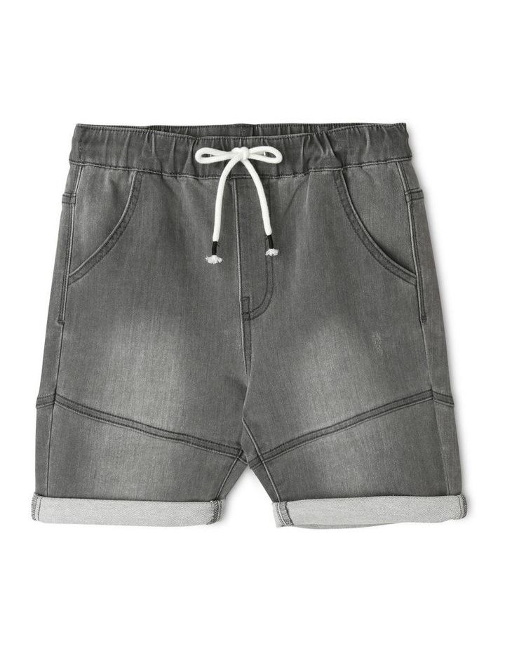 Pull-On Denim Shorts image 1