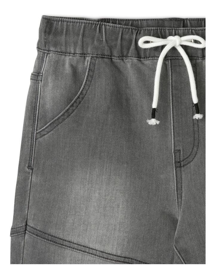 Pull-On Denim Shorts image 3