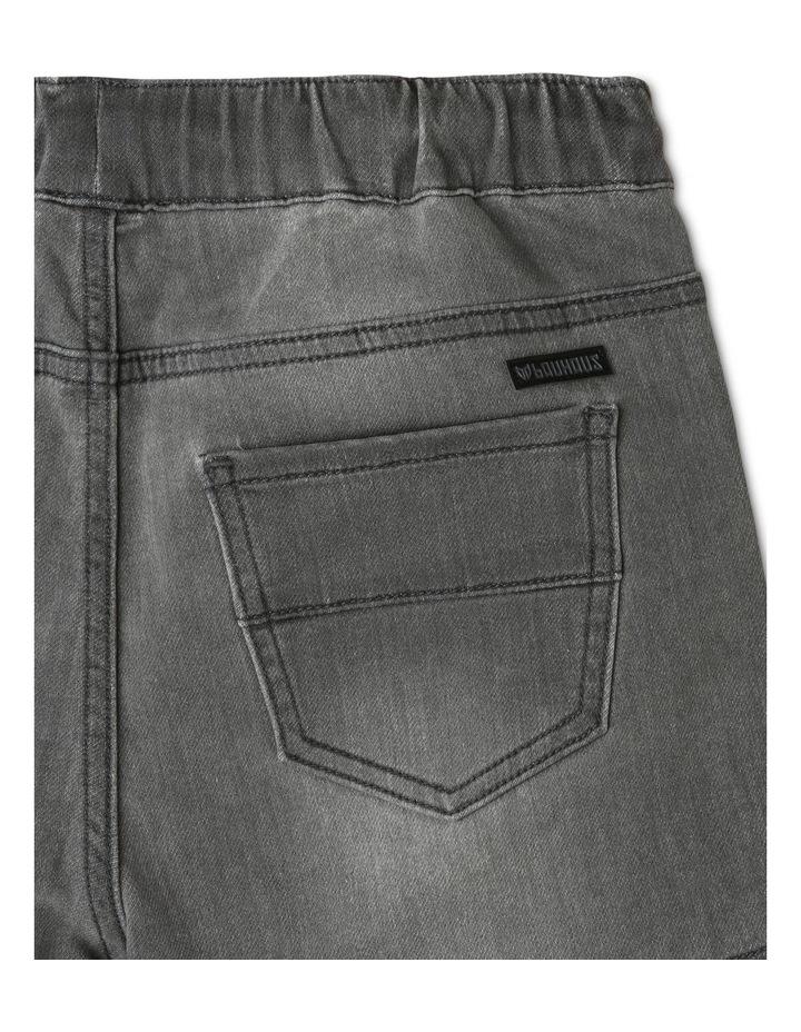 Pull-On Denim Shorts image 4