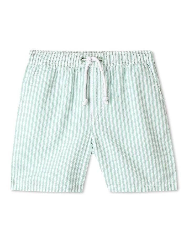 Pull-On Seersucker Shorts image 1