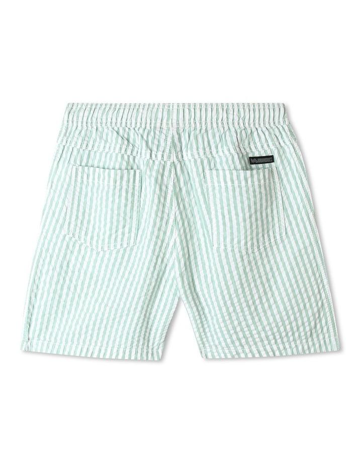 Pull-On Seersucker Shorts image 2