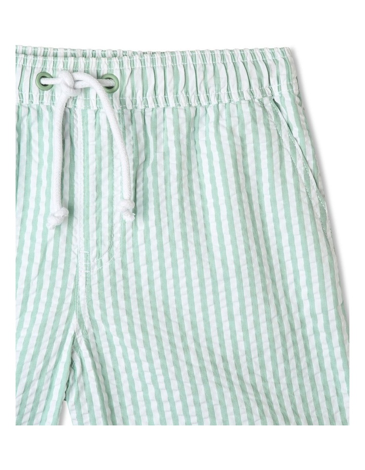Pull-On Seersucker Shorts image 3