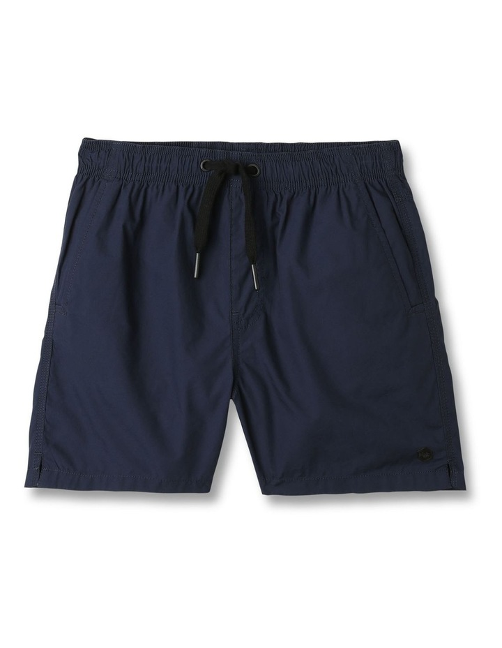Woven Volley Shorts Navy image 1