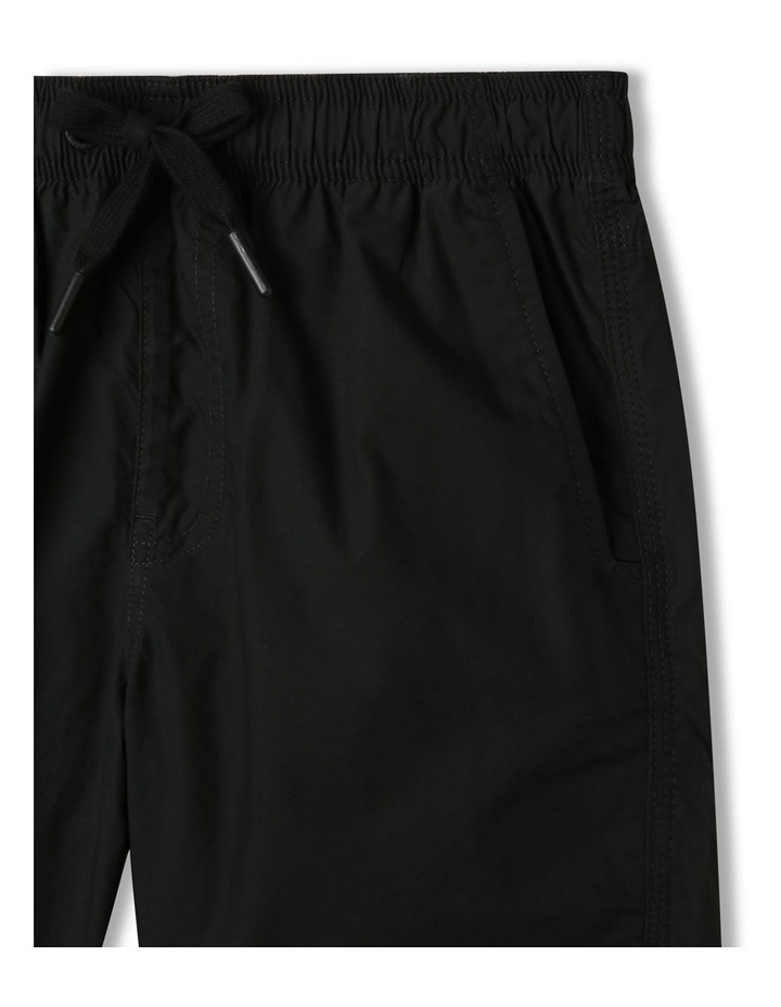 Woven Volley Shorts Black image 2