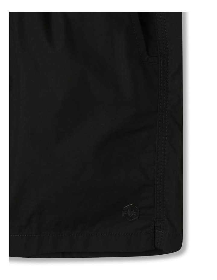 Woven Volley Shorts Black image 3