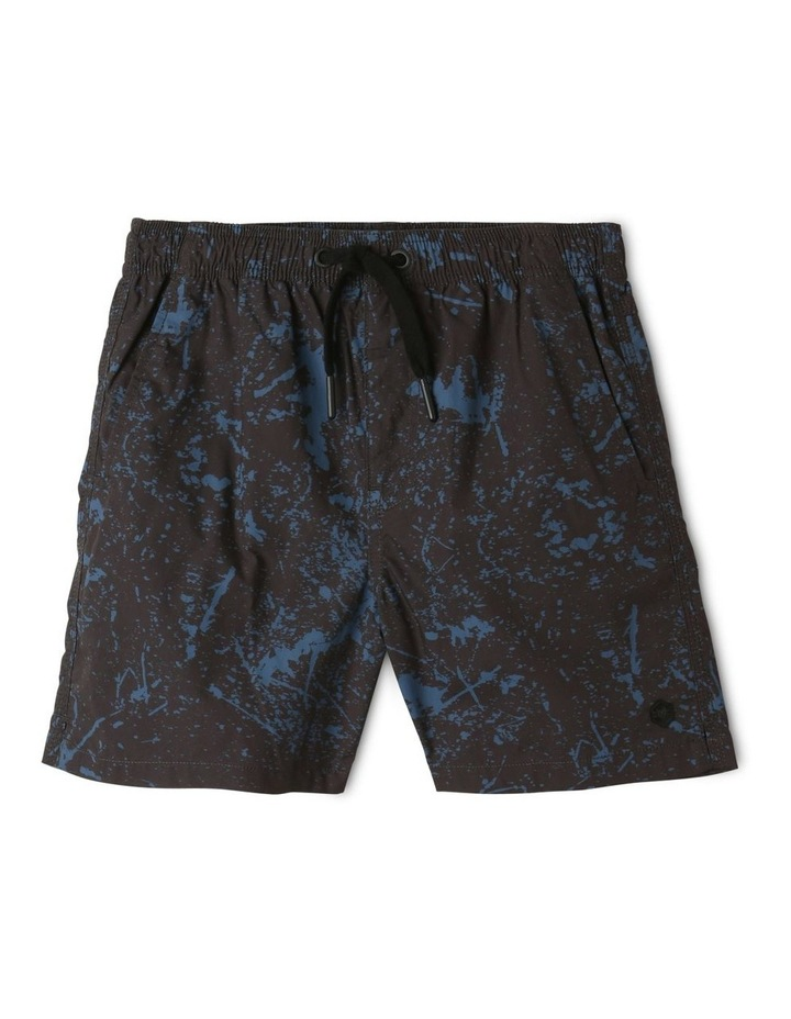 Woven Volley Shorts Black image 1