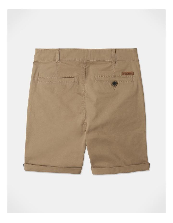 Stretch Chino Shorts Tan image 5