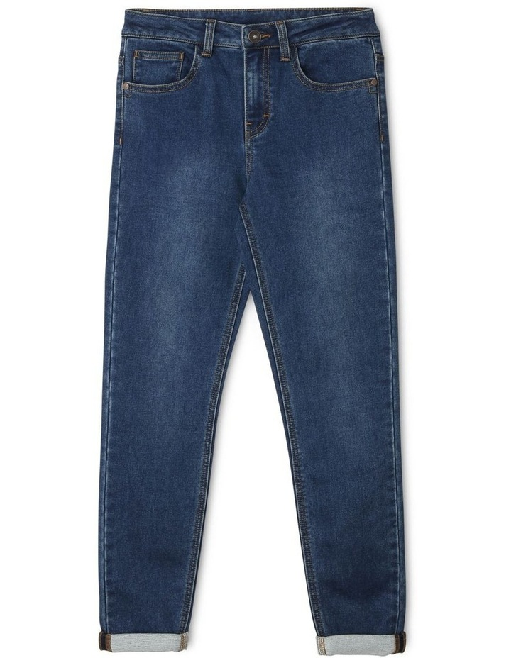 Jeans with Rolled Cuffs image 1
