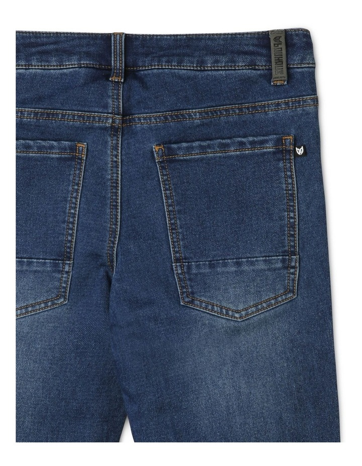 Jeans with Rolled Cuffs image 4