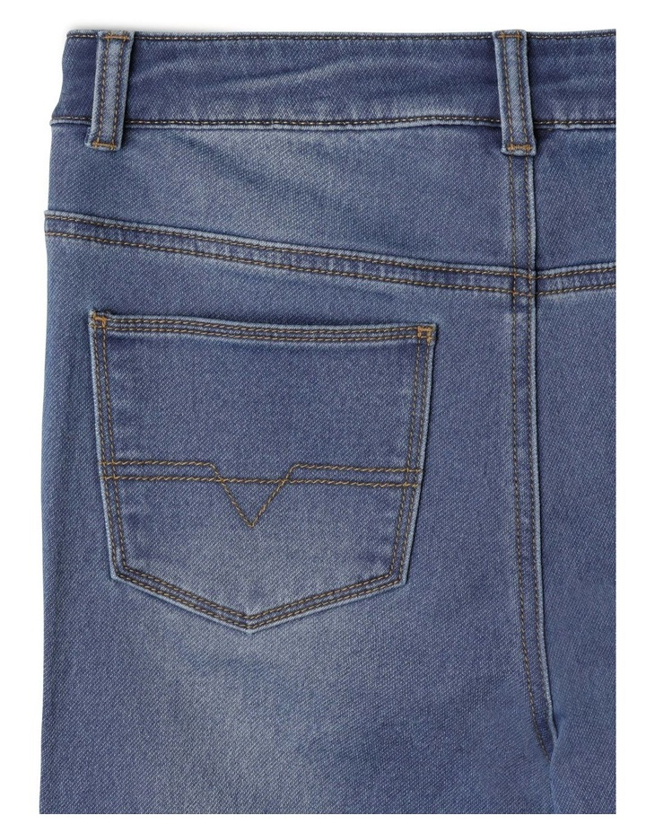 Knit Denim Jean image 6
