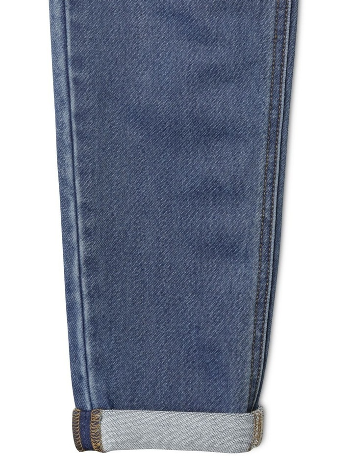 Knit Denim Jean image 7
