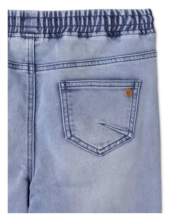 Pull On Knit Denim Jean image 4