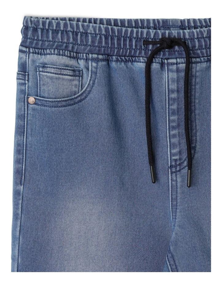 Pull On Knit Denim Jean image 2
