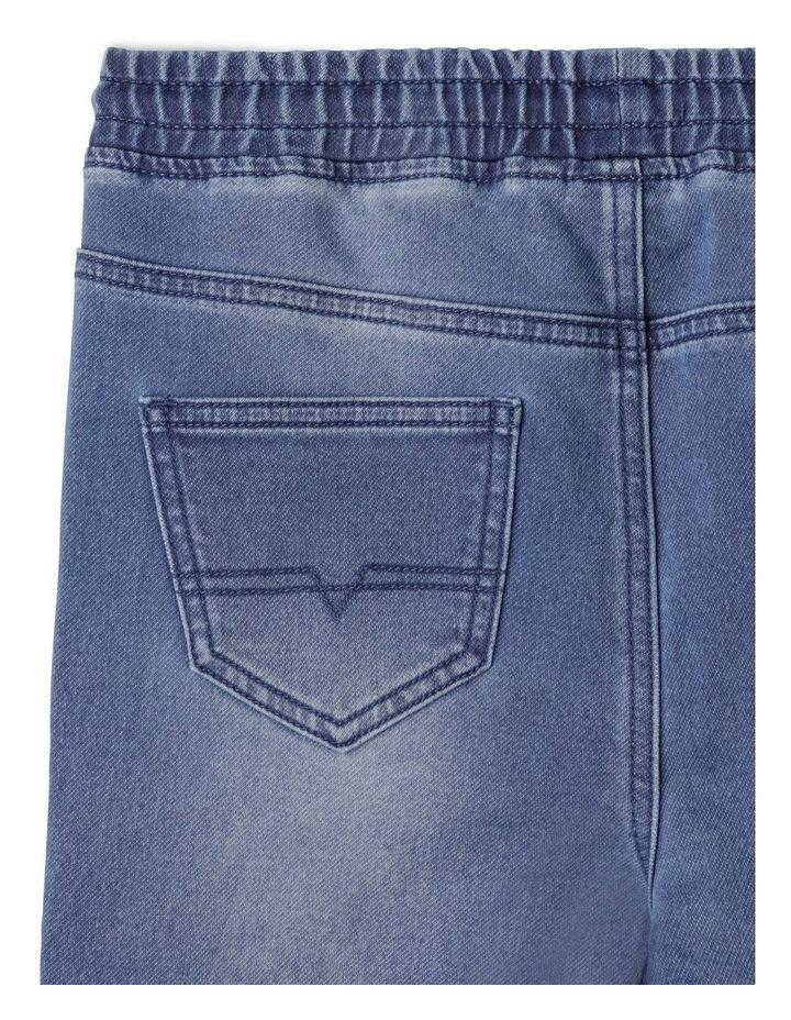 Pull On Knit Denim Jean image 5