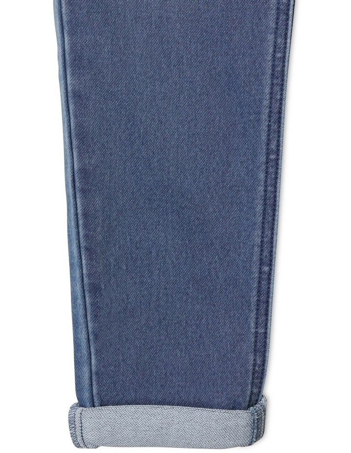 Pull On Knit Denim Jean image 6