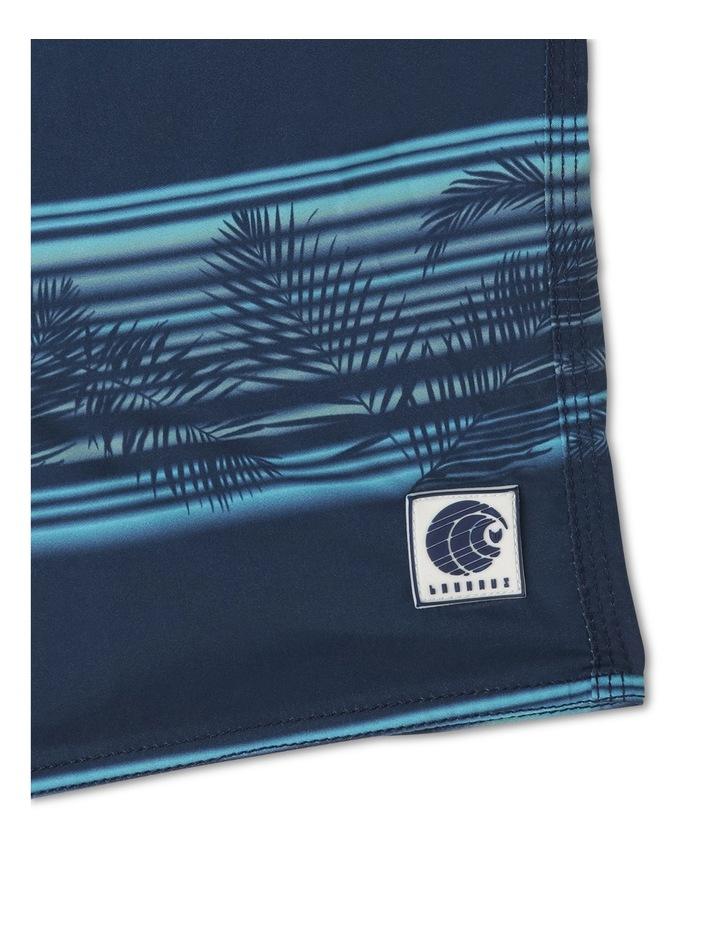 Stripe Fern Print Boardie image 3